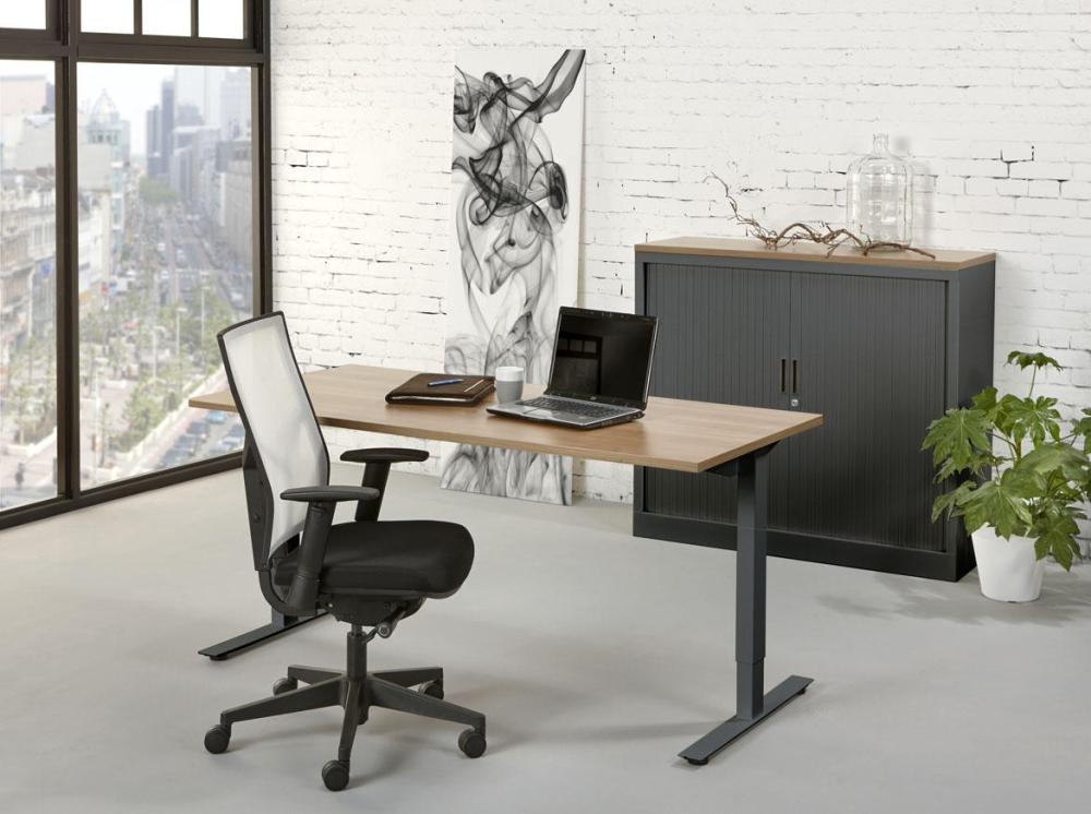 tc126 bureau top 120x60cm orange office. Black Bedroom Furniture Sets. Home Design Ideas