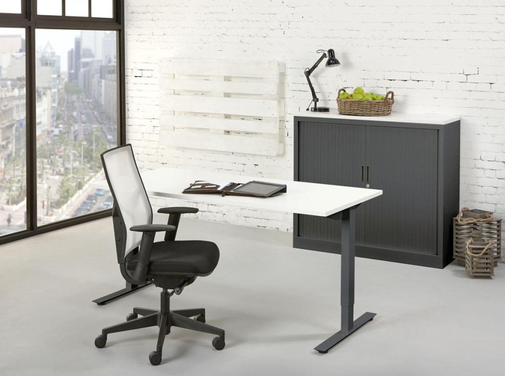 tc080 bureau top 80x80cm orange office. Black Bedroom Furniture Sets. Home Design Ideas